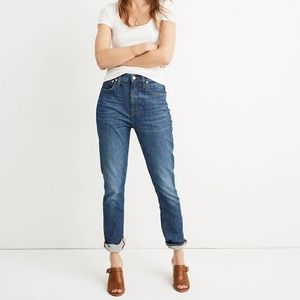 Madewell High Rise slim boy Jean size 25 T